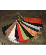 Lot of 25 mixed colored Alpacawool scarves,wholesale, - $285.00