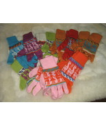 Lot of 25 pair Alpacawool gloves, mittens wholesale - $135.00