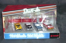 Hot Wheels HOT NIGHTS DRIVE IN 4 CAR SET BRAND NEW! RARE! 1999 - $29.96