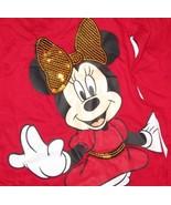 Disney Minnie Mouse Tutu Pant Set Girls SZ 5T Red Gold Glitter NEW - $14.99