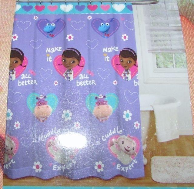 Disney Doc McStuffins Fabric Shower Curtain And 50 Similar Items