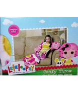 Designer Series Lalaloopsy Crumbs Sugar Cookie Comfy Throw Girls NEW Bla... - $20.00