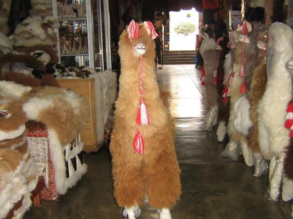 Alpaca fur toy,100 cm,original alpaca fur, figure