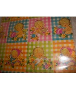 Nursery Wrapping Paper Lot - $3.00