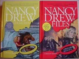 Nancy Drew FILES COLLECTOR'S & COLLECTION 3in1 stories hc NEAR FINE Keene - $15.00