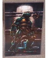 TMNT Michaelangelo Glossy Print 11 x 17 In Hard Plastic Sleeve - $24.99