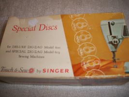 Singer Special Discs for Touch & Sew Sewing Machine - $53.34 CAD