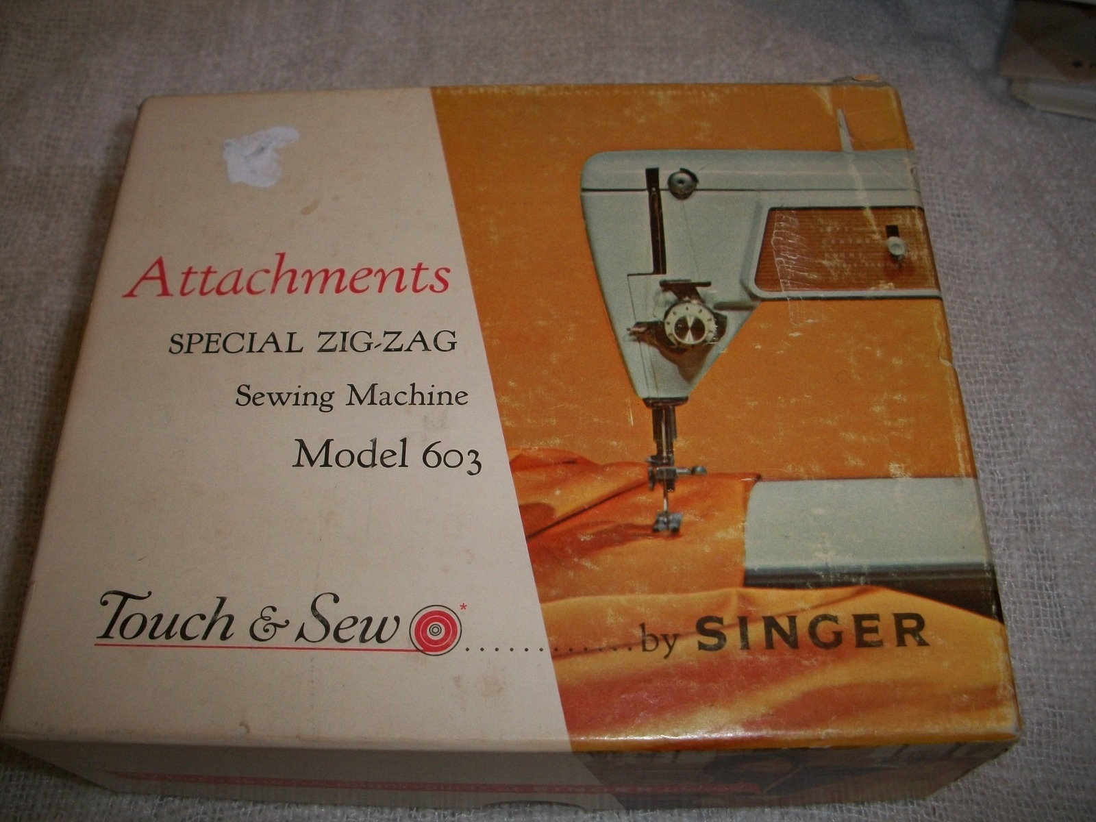 Singer Touch & Sew Sewing Machine Attachments  - $26.39 CAD