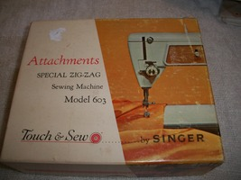 Singer Touch & Sew Sewing Machine Attachments  - $20.00
