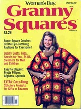 Vintage Woman's Day Granny Squares, number 6, 1978 - $7.59