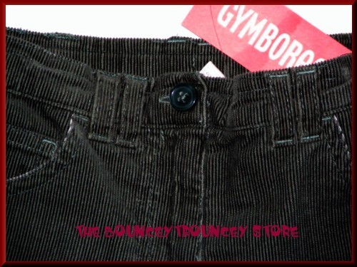NWT Gymboree Mountain Cabin CORDUROY PANTS SHORTS BTS 6