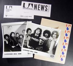 Canada rock LAVENDER HILL MOB 1977 UA PROMO PRESS KIT with photos - $17.99