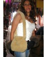 Pelt handbag, Bag made with merino sheep Pelt  - $56.00