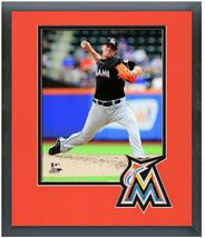 "Jose Fernandez 2013 Miami Marlins - 11"" x 14"" Matted and Framed Photo  - $43.55"