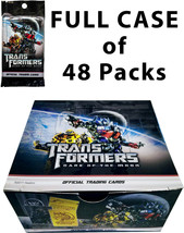 NEW Transformers: Dark of the Moon FULL BOX of 48 Trading Cards Packs - $39.99