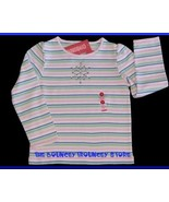 NWT Gymboree Snow Princess Stripe Snowflake Shirt Sz 6 - $13.59