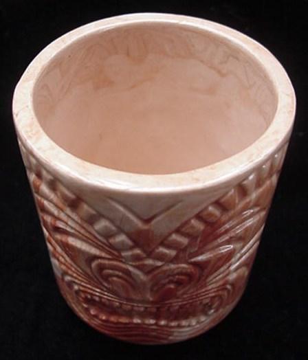 Vintage Kikooyah Alaska Eskimo Indian Art Pottery Totem Vase