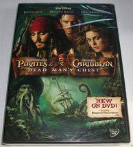 Walt Disney Pirates of the Caribbean 2: Dead Man's Chest (DVD, 2006) BRA... - $3.99