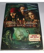 Walt Disney Pirates of the Caribbean 2: Dead Man's Chest (DVD, 2006) BRA... - $3.99
