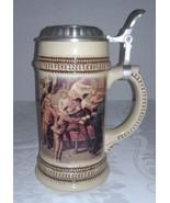 Paul Sebastian 1999 Limited Edition German Stein Mug w/ Engraved Pewter Lid - $7.95