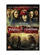 Disney PIRATES OFTHE CARIBBEAN 3: AT WORLD'S END DVD Johnny Depp - brand... - $3.99