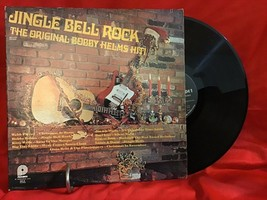 Jingle Bell Rock -Bobby Helms Hit Christmas LP Vinyl Record - $2.96