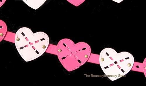 NWT Gymboree Mix N Match Pink Heart Belt Sz 5 6 7