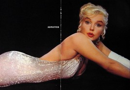 Marilyn Monroe Old Pin-up Centerfold Poster WHITE HOT! - $11.99