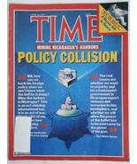 Magazine Time April 23 1984 1980s Mining Nicaragua's Harbors Repair Job ... - $9.99