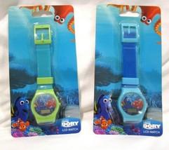 Set of Disney Finding Dory LCD Watch Girls Wristwatch LCD Digital Watche... - $49.49