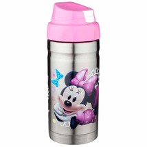 THERMOS-BEVERAGE BOTTLE. BRAND NEW! STAINLESS STEEL. MINNIE MOUSE - $15.00