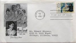 Nov. 17, 1966 First Day of Issue, Artmaster Cover, Mary Cassatt #44 - $1.73