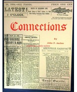 Book~Connections~John P. Ascher~Genealogy~Family History~Edison - $18.70