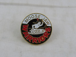 Vintage WHL Pin - Moose Jaw Warriors Original Logo - Stamped Pin - $25.00