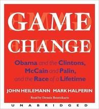 Game Change : Obama, Clintons, McCain… by John Heilemann (2010, CD, Unab... - €11,59 EUR