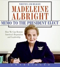 Memo to the President Elect by Madeleine Albright (2008, CD, Unabridged) - €8,78 EUR