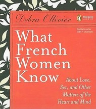 What French Women Know : About Love, Sex… by D. Ollivier (2009, CD, Unab... - €14,28 EUR