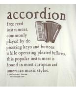 ACCORDION Definition T-Shirt - $9.99