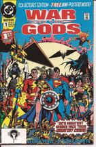 DC War Of The Gods #1-4 Set VF/NM Wonder Woman Dr Fate Superman Captain ... - $14.95