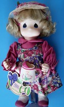 """1995 2nd Ed 12"""" Garden Friends Collection PRECIOUS MOMENTS MARCH LILY #1427 - $8.91"""