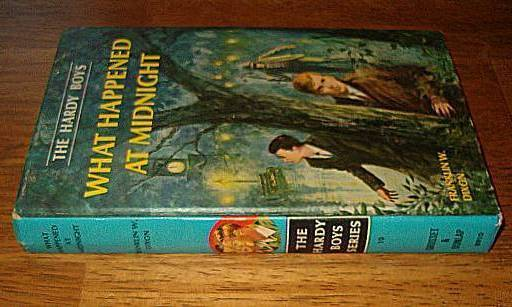 Hardy Boys Vintage 1967 Book What Happened At Midnight
