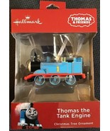 "2018 Hallmark Thomas the Tank Engine Christmas Tree Ornament NEW 3"" L Fr... - $16.82"