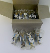 Bryant AC Switches Single Pole Ivory Glow Toggle Back & Side Wired Lot o... - $12.82
