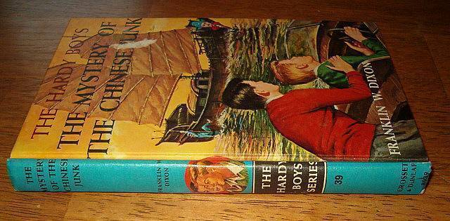 Hardy Boys Vintage 1960 Book The Mystery of the Chinese Junk