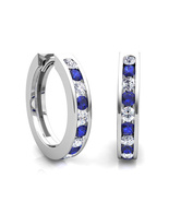 Design Earrings 14kt white gold 0.3Ct GENUINE D... - $500.00