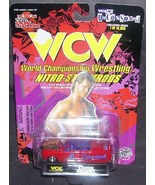 Racing Champions WCW Nitro-Streetrods CHRIS BENOIT Diecast Car 1:64 NEW! - $9.96
