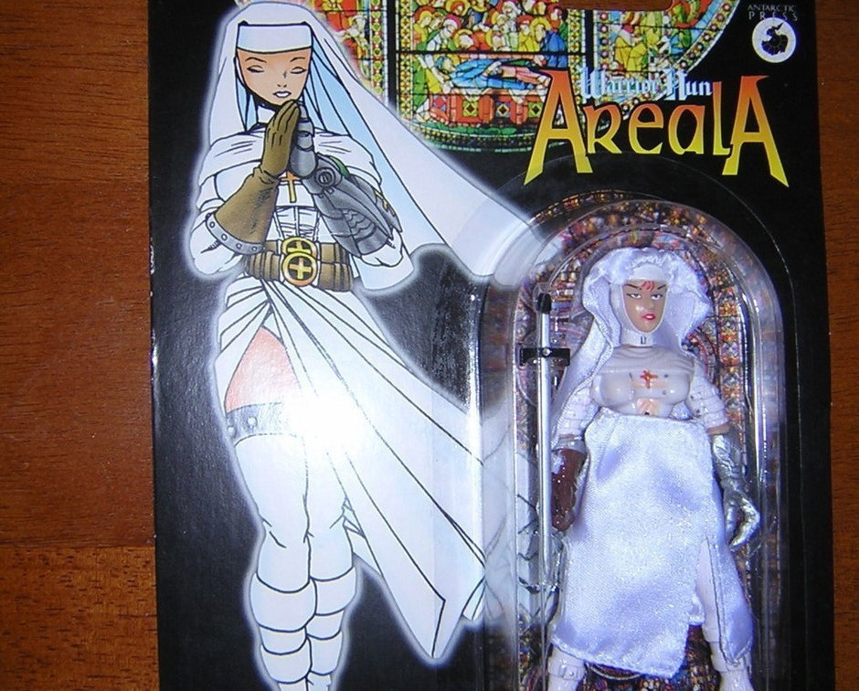 Areala holy white warrior nun