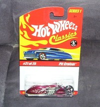 Hot Wheels Classics PIT CRUISER #21 of 25 RED Diecast NEW Series 1 - $7.96