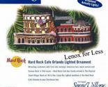 Dept 56 hard rock cafe orlando lighted ornament tag thumb155 crop