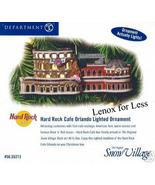 Dept 56 Hard Rock Cafe Orlando Lighted Ornament (NEW) - $10.50